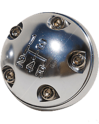 Land Rover Polished Alloy Gear Knob - Cooper 500 Style - Austin Mini